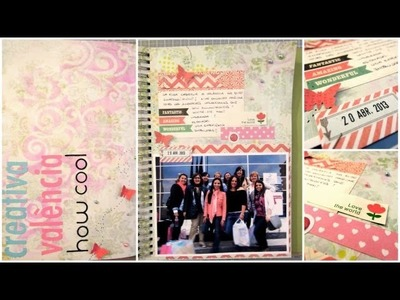 Smash Book Terapia: 22.04.13 *Cómo hacer un diario de Scrap* Smash book tutorial