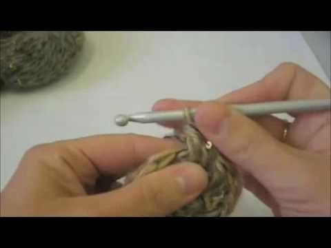 Tejer punto alto con relieve - Boina de lana
