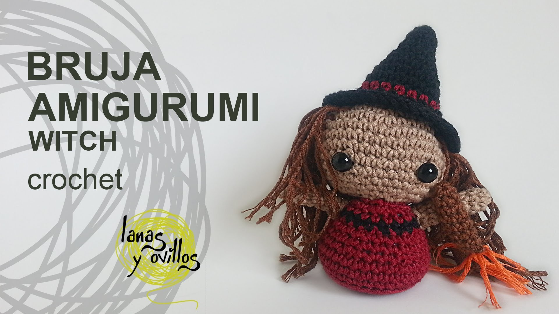 Tutorial Amigurumi Bruja Witch