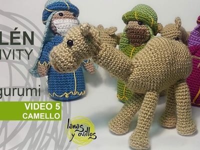 Tutorial Belén Amigurumi Part 5: Camellos (Nativity English subtitles)