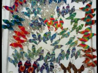 Tutorial Mariposa Macramé