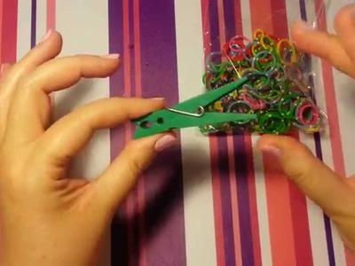 Tutorial: Pulsera de gomitas multicolor con una pinza  es.PandaHall.com