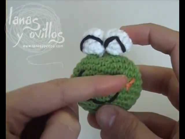 Tutorial Rana Amigurumi Frog (english subtitles)