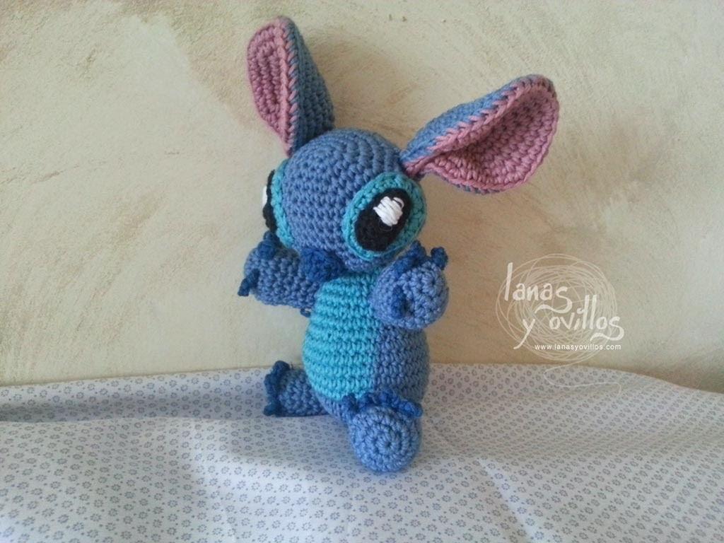 Tutorial Stitch Amigurumi Paso a Paso (1 de 2)