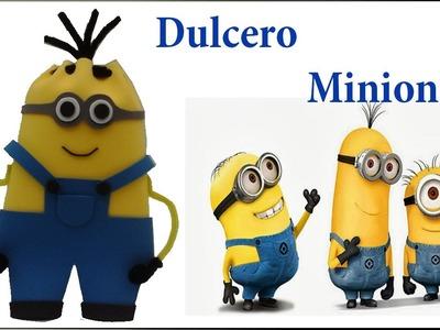COMO HACER DULCERO DE MINIONS