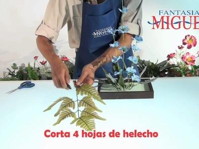 Como hacer un Arreglo Floral  Minimalista.