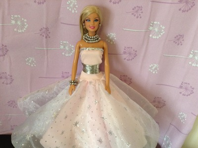 COMO HACER VESTIDO DE PRINCESA PARA barbie, monster high