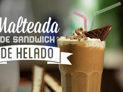 ¿Cómo preparar Malteada de Sandwich de Helado? - Cocina Fresca