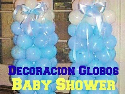 Decoración De Globos Baby Shower ( MAMILA ) *Económico y Fácil* - Madelin's Cakes