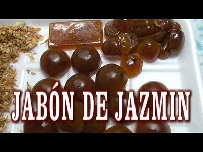 DIY JABÓN DE JAZMIN