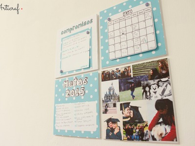 DIY | Organizador Calendario 2015