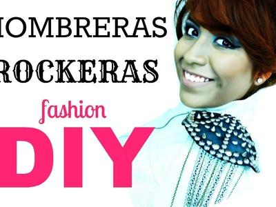 Fashion DIY: Hombreras Rockeras ♥ Royal LAMP