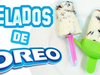 HELADOS DE OREO. FÁCIL Y RÁPIDO ♥ SECRETOS DE RAQUEL