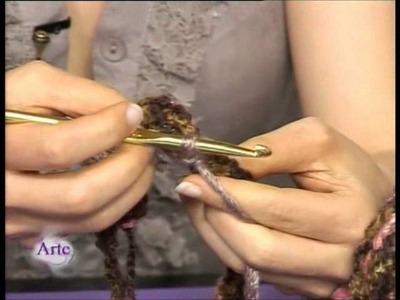 La sencilla forma de tejer un poncho