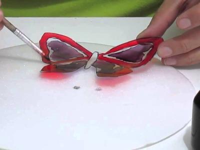 Mariposas en acetato
