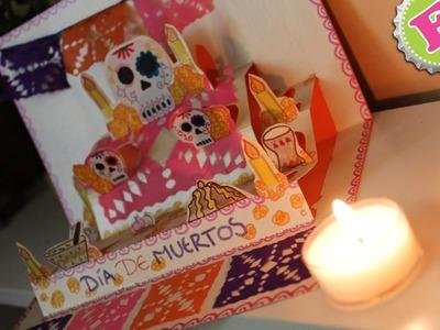 Mini Altar de Muertos PopUp