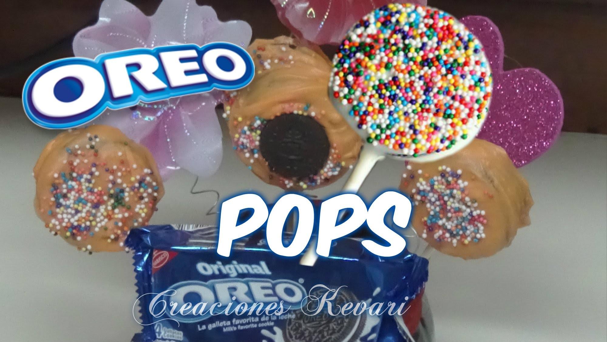 Oreo Pops o Cake Pops Paletas de Oreo