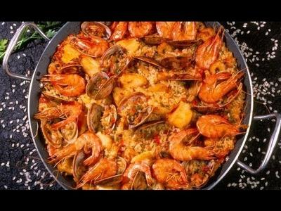 Paella sencilla. cómo preparar Paella