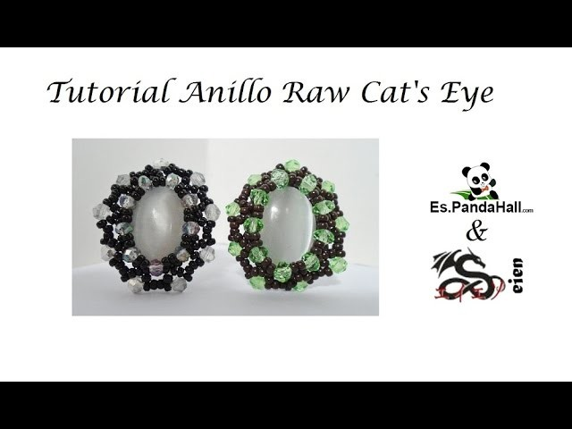 Tutorial Anillo Raw Cat's Eye Es.PandaHall.com