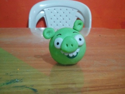 Tutorial de porcelanicron # 5 Bad Piggie