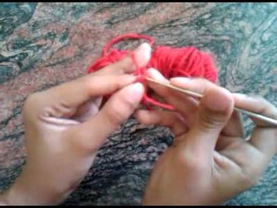 Aprende a Tejer cadena a crochet [Clase 1 para Principiantes]