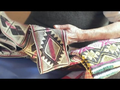 Artesanía Pewenche de Lonquimay: Kal - lana Ana Nahuelcura