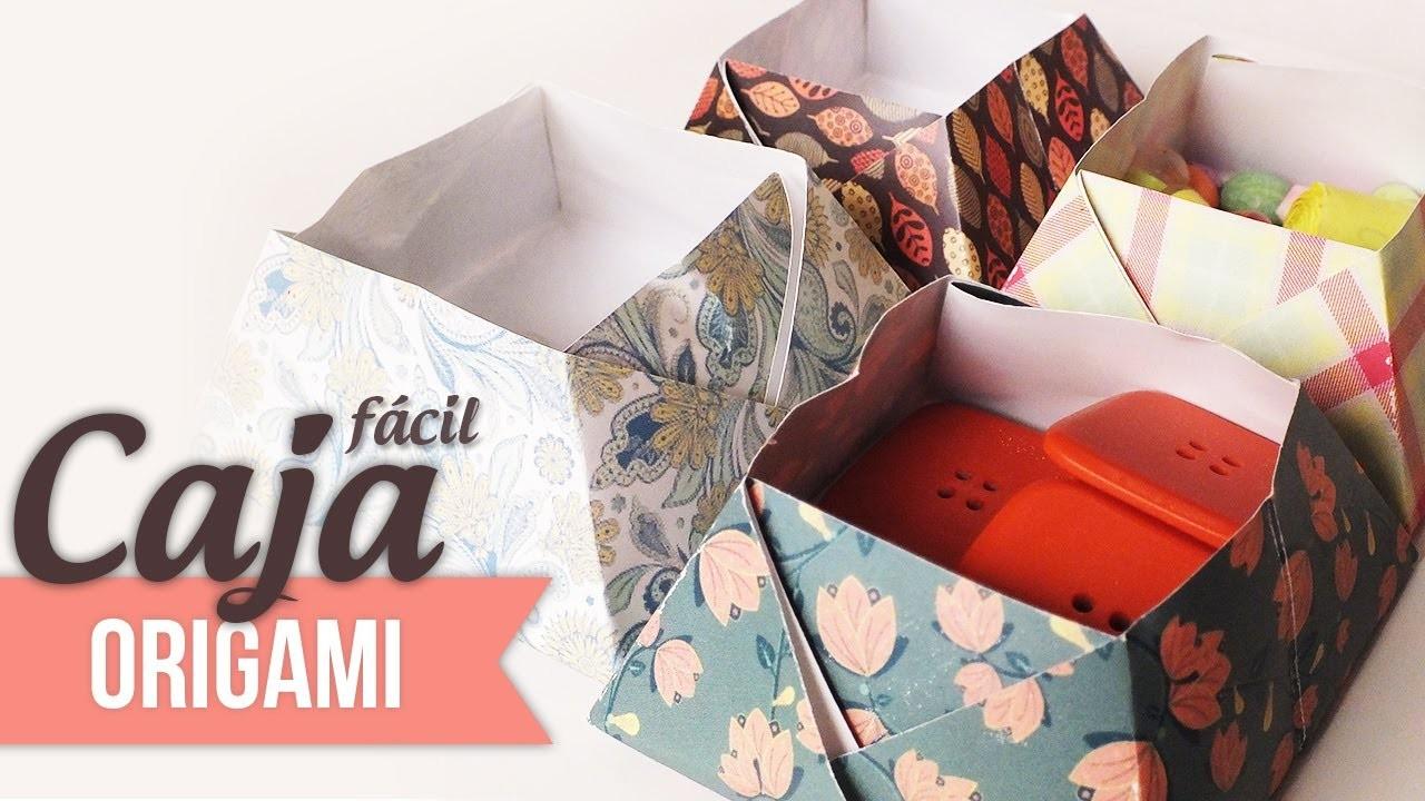 Caja rápida y fácil [Origami]