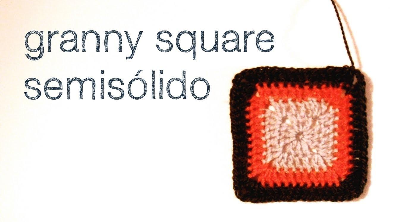Granny square semisólido
