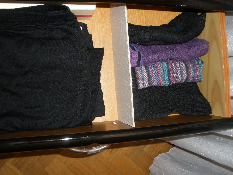 Organizador de cajones, separador de cartón. Manualidades, crafts.
