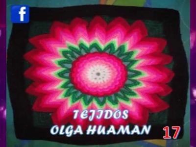 TEJIDOS A CROCHET PARA COLCHAS Y  COJINES 01