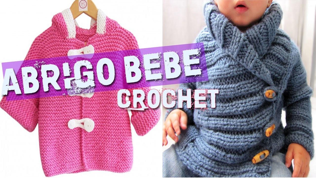 Abrigo Para Bebe - Tejidos a Crochet y Dos Agujas