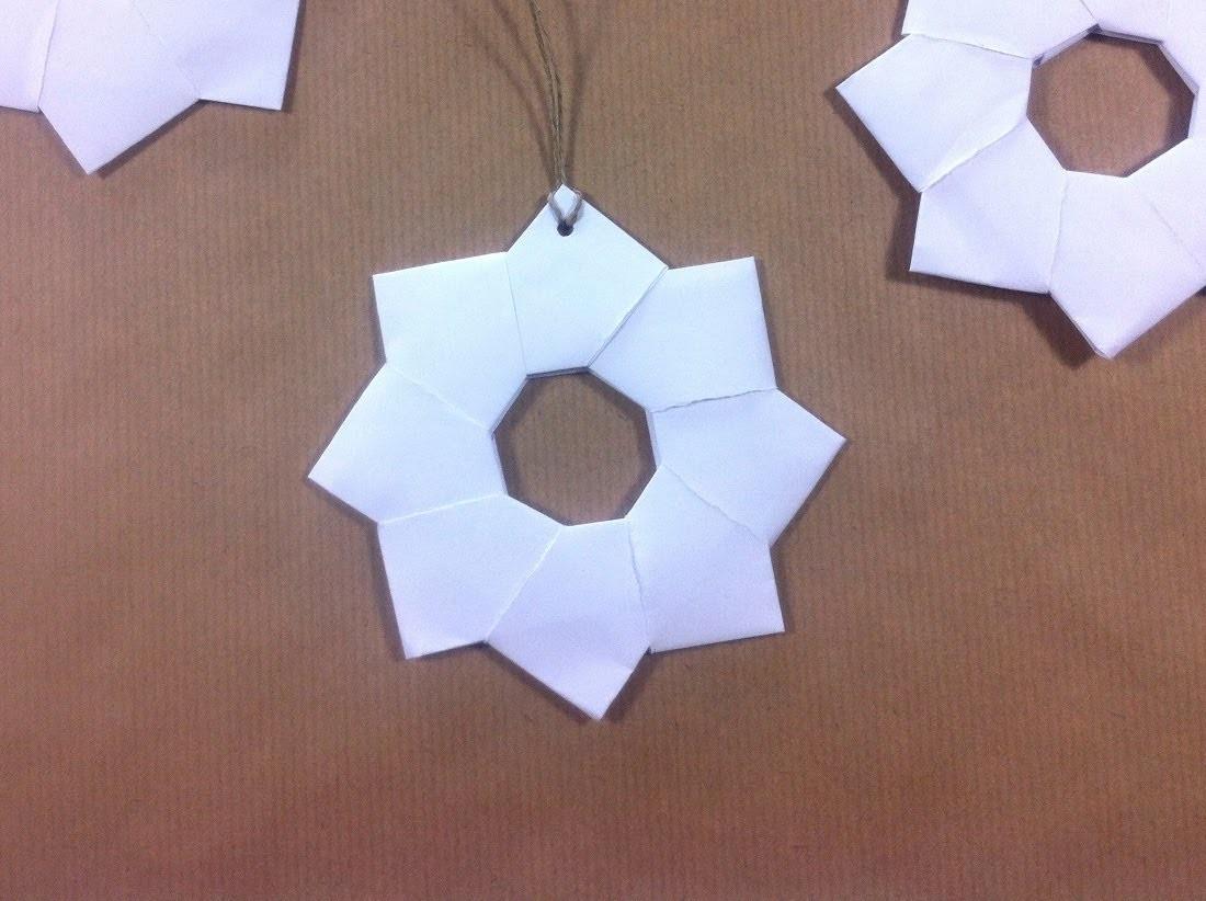 Cómo hacer Estrellas de Papel japonesas para decorar la Navidad (Tutorial DIY)