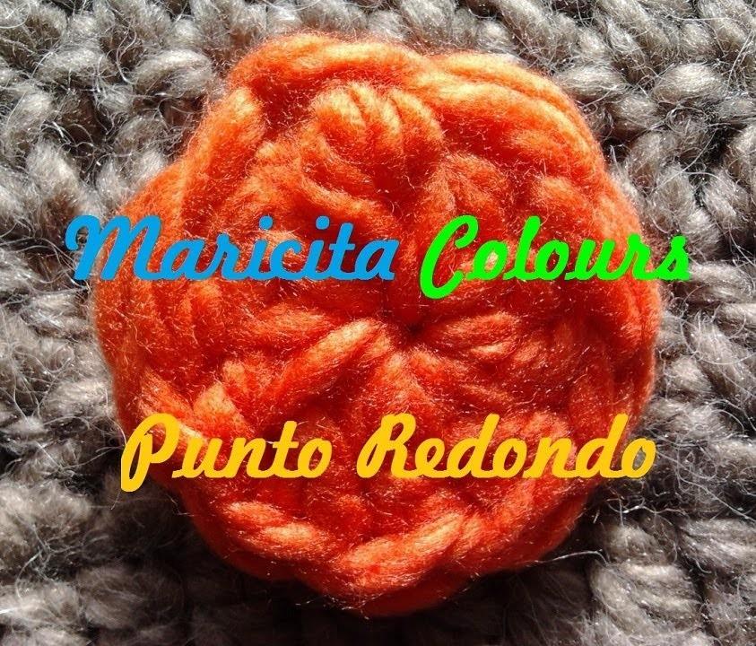"""Crochet Básico (Lección 3) """"Aro deslizado ó Anillo Mágico""""  Magic Ring por Maricita Colours"""