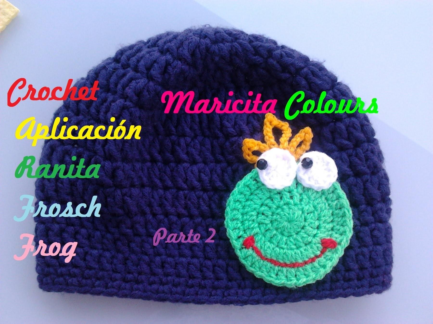 """Crochet Tutorial Sapito.Ranita  """"Alex"""" Parte 2 - Frog Crocheting - Häkeln Frosch"""