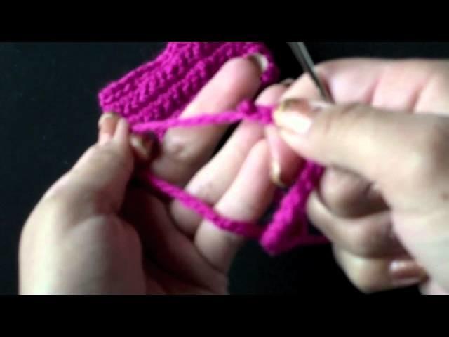 Moños tejidos. crochet bow