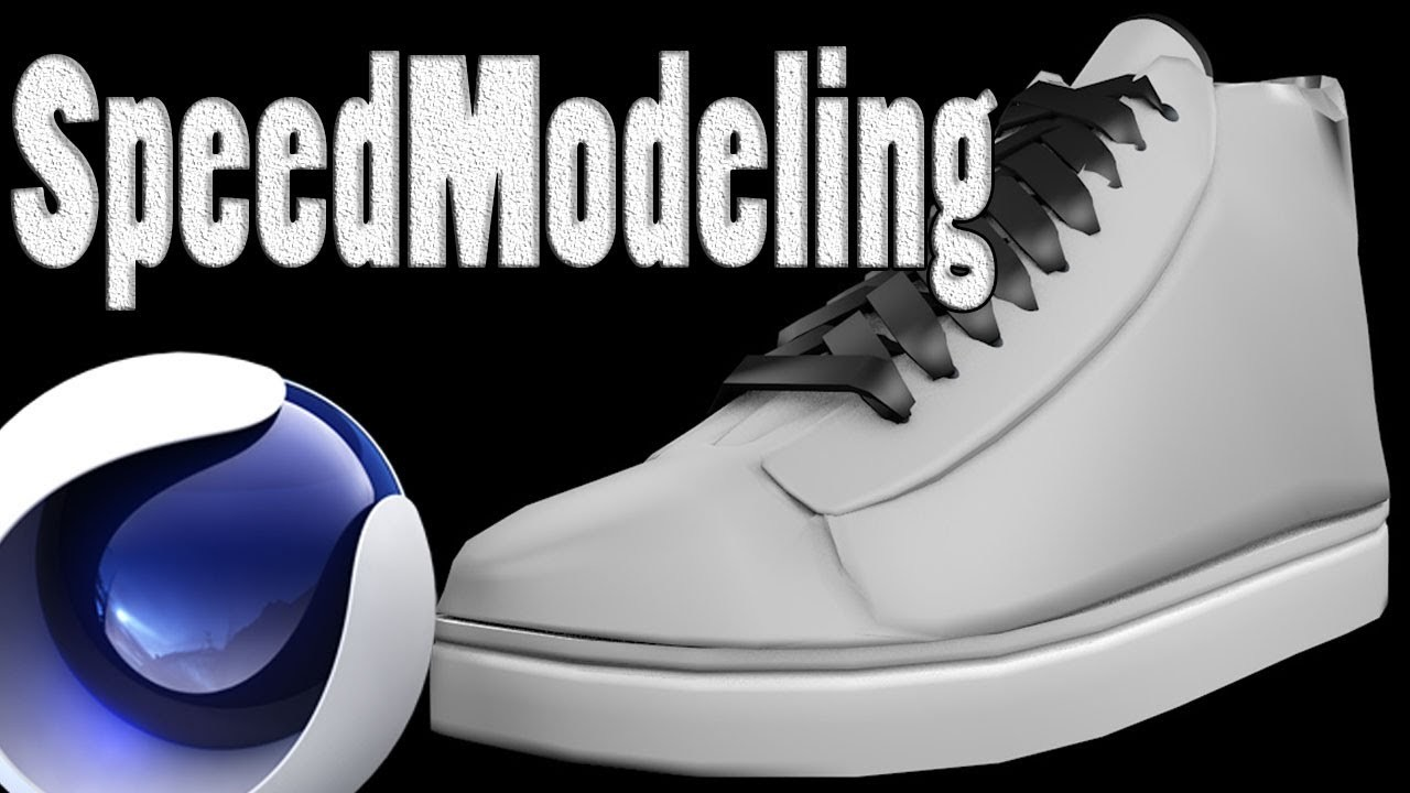Speed Art - Zapatillas.Footwear (Cinema 4D)