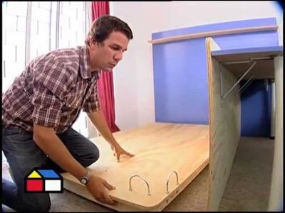 ¿Cómo construir una cama escritorio?