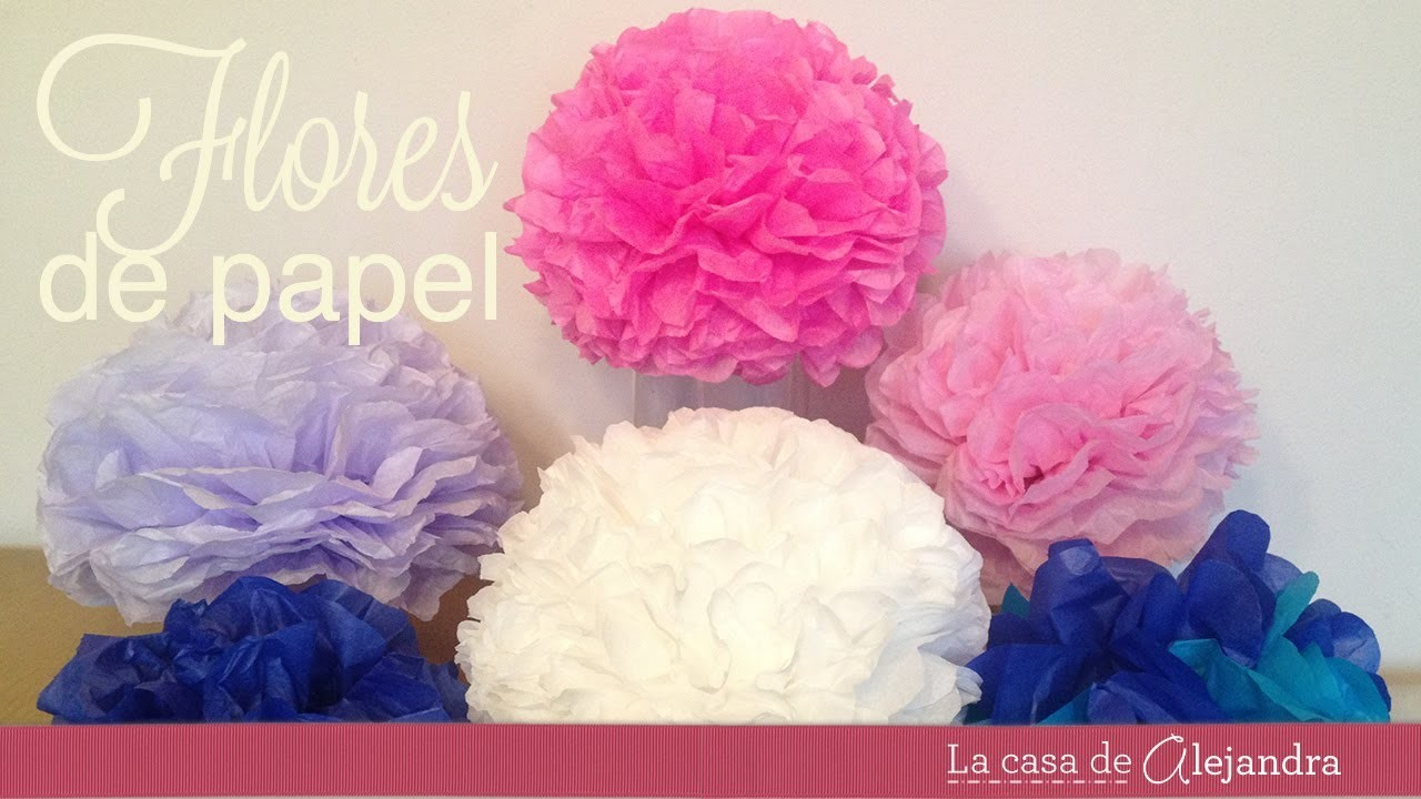 Como hacer esferas de papel - How to make paper spheres