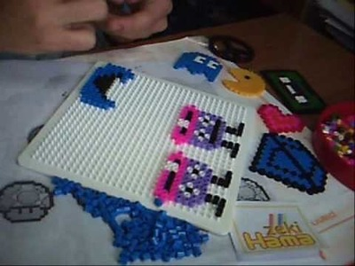 Hama beads creation - the cookie monster- ( zekiColour )