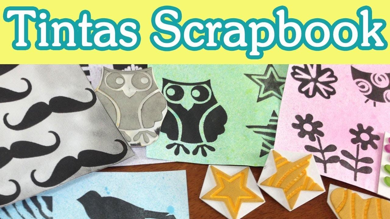 Haz Tintas Scrapbooking. Tutorial Scrapbook DIY
