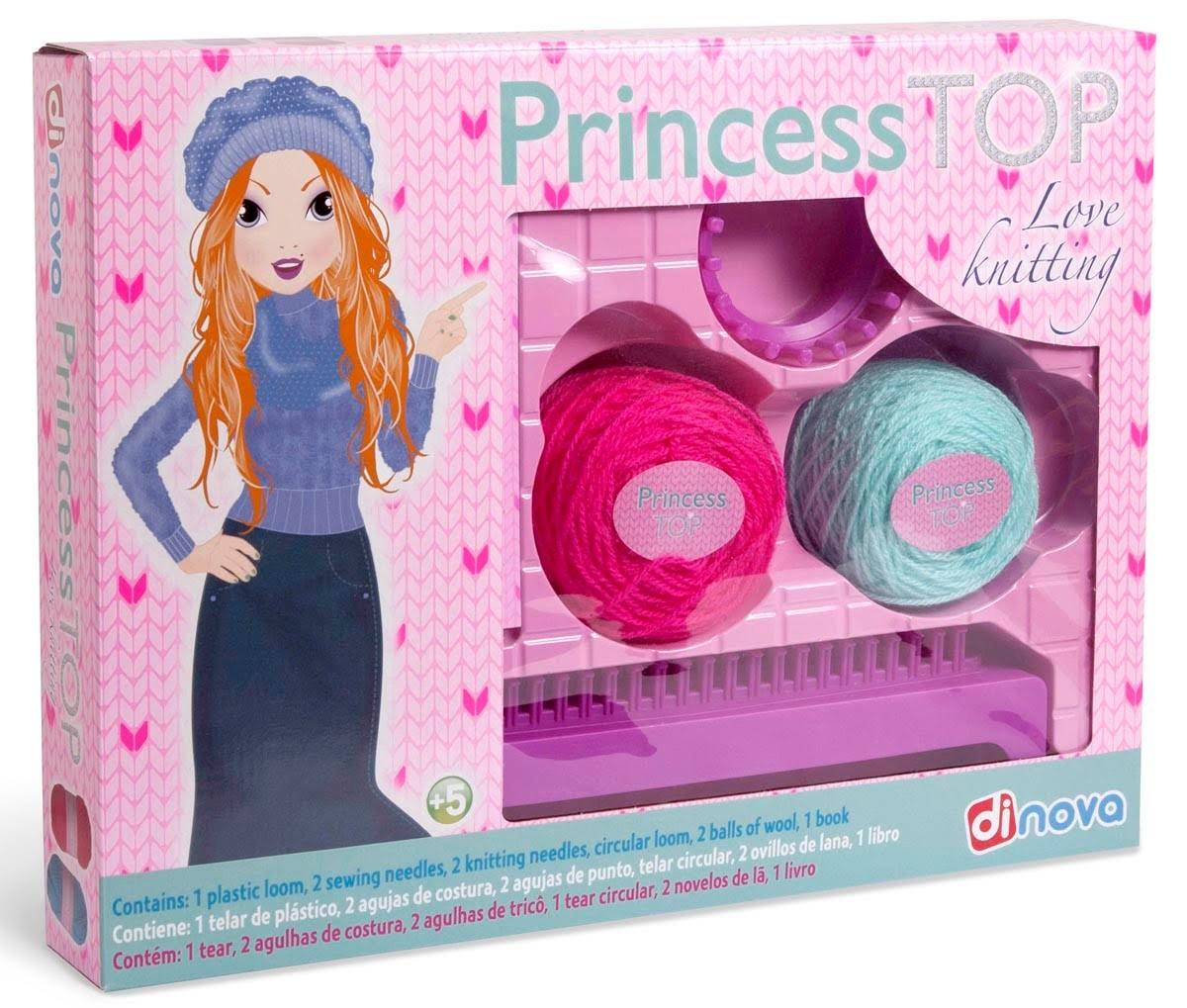 "Tricotosa ""Love Knitting Princess TOP"""