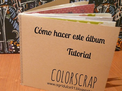 Tutorial: Mini álbum fácil de scrap con washi tape