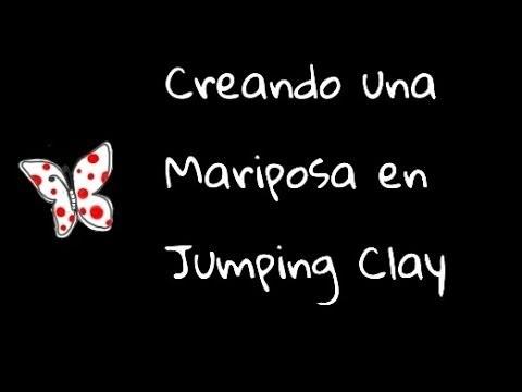 Creando una mariposa en Jumping Clay - Polymer clay butterfly (tutorial)