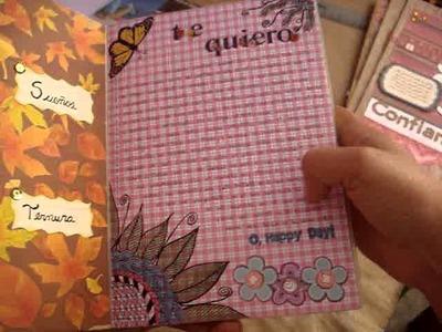 Avances Diario Scrapbook. smash book, dibujos(Dolls) y Nuevo Diario =)