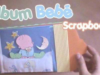 Album Mesesario Scrapbook para bebé