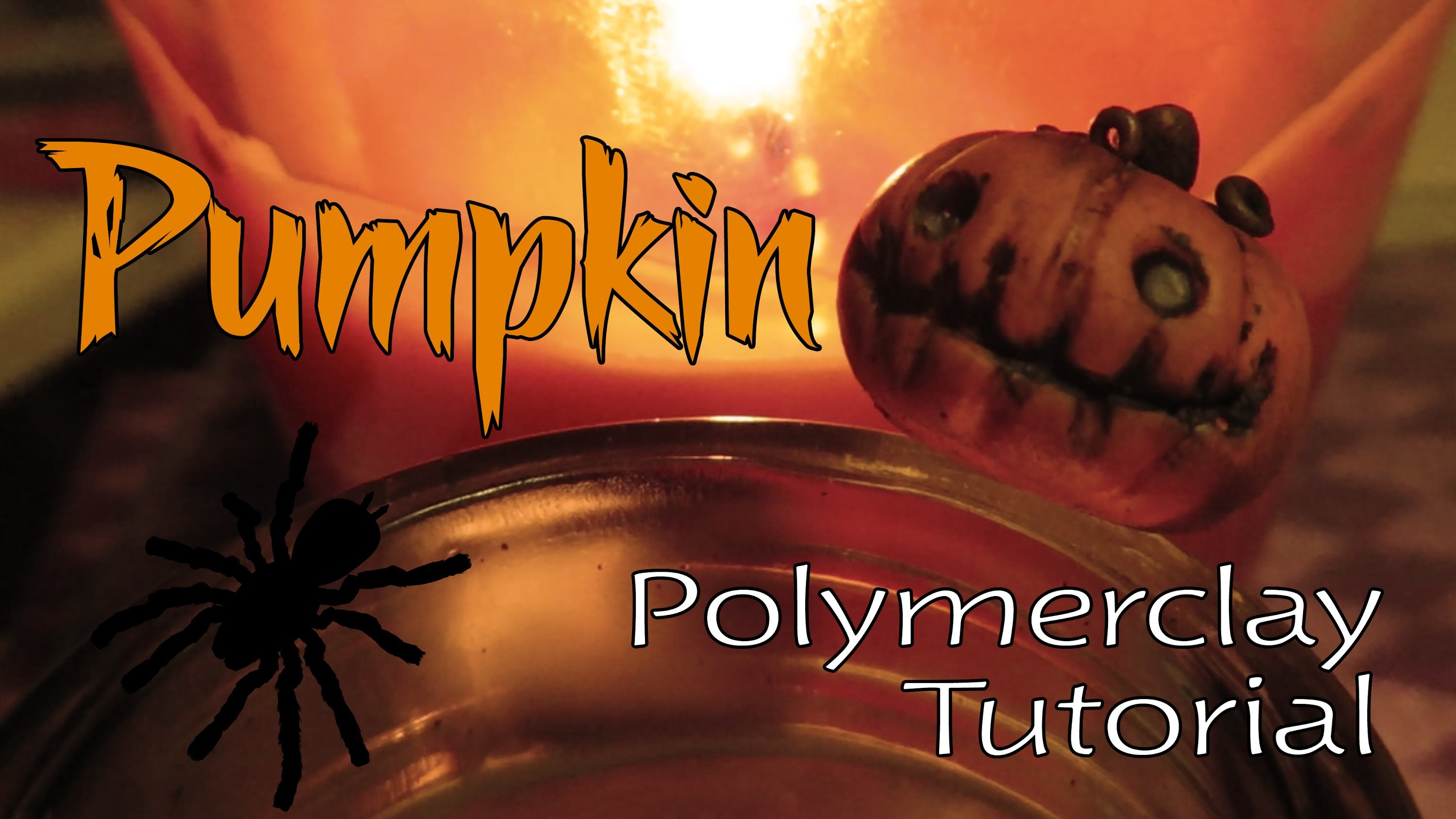 Pumpkin: Polymer clay tutorial (Stop Motion)