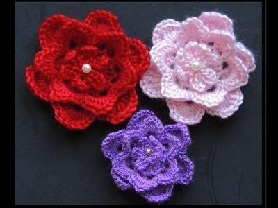 Crochet : Flor # 5