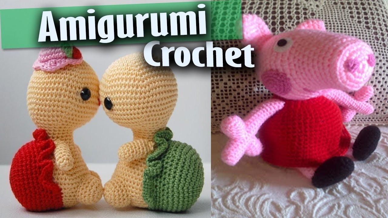 Amigurumi Tejidos a Crochet - ( Diseños Peppa Pig, Minions y Varios Mas )