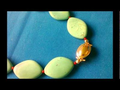 Collares de Piedras Semipreciosas - Turquesas