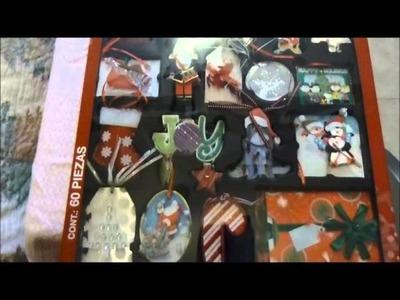 Haul: Compras para scrapbook (Noviembre)